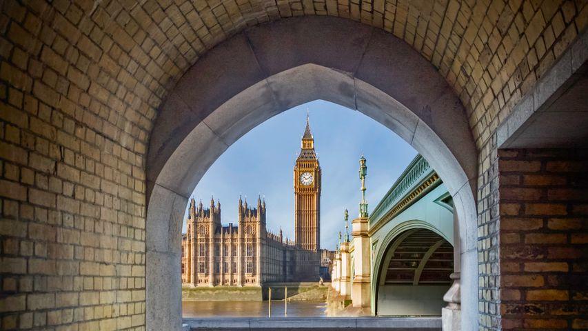 「ビッグ・ベンとウェストミンスター宮殿」イギリス, ロンドン
