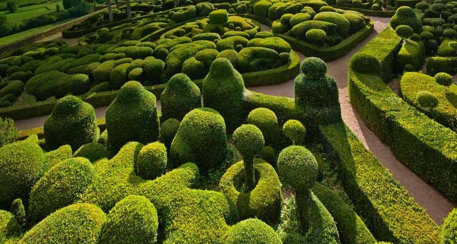 「マルケイッサク空中庭園」フランス, ドルドーニュ, ヴェザック