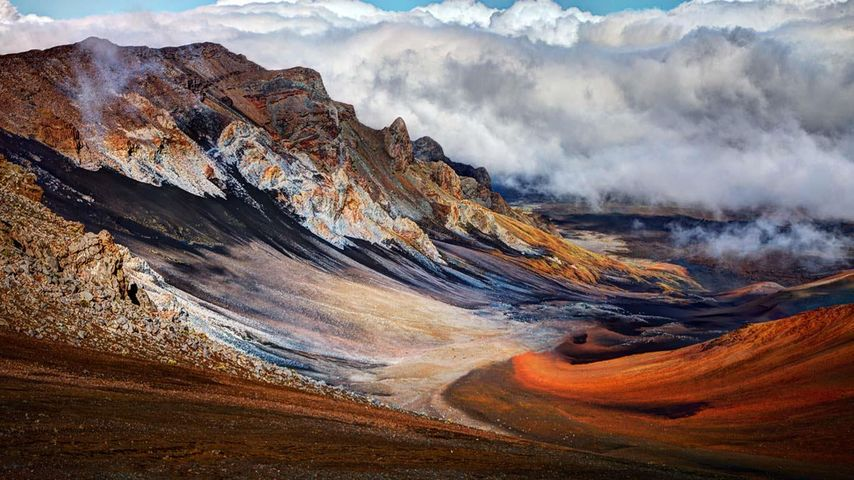 「ハレアカラ国立公園」ハワイ, マウイ島