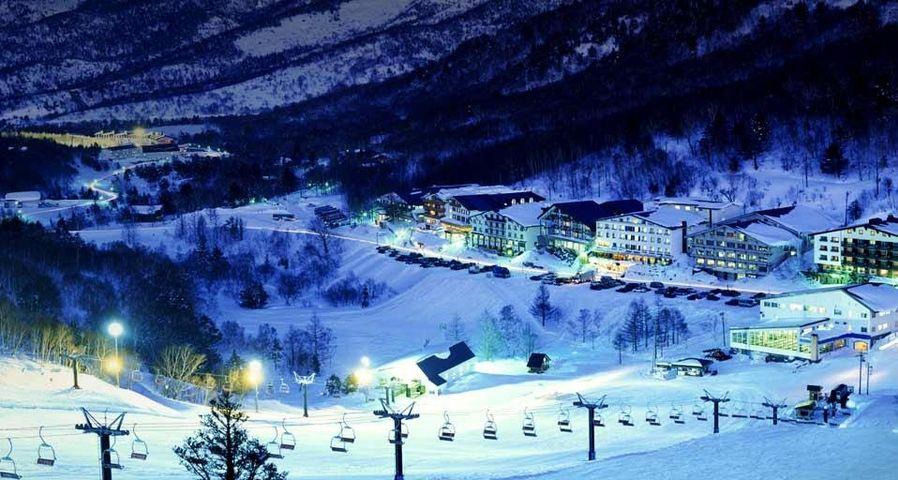 「志賀高原スキー場」長野, 山ノ内町