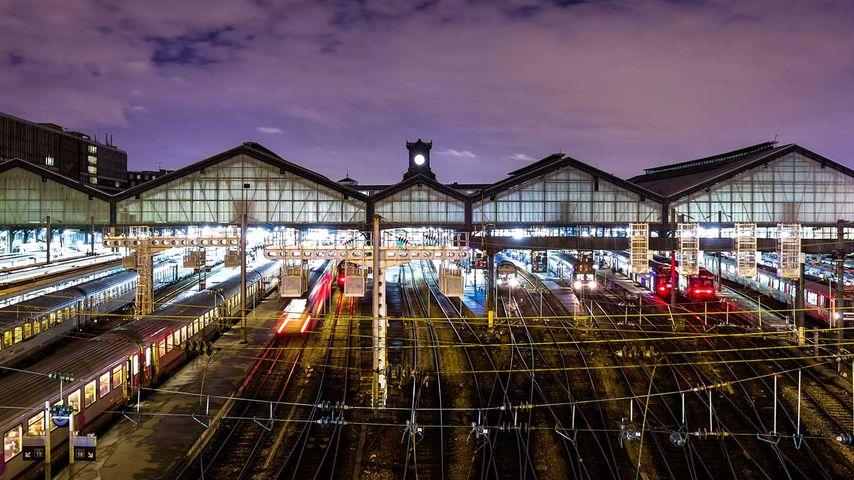 「サン・ラザール駅」フランス, パリ