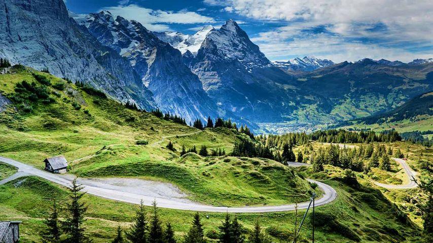「クライネ・シャイデック」スイス, アイガー山