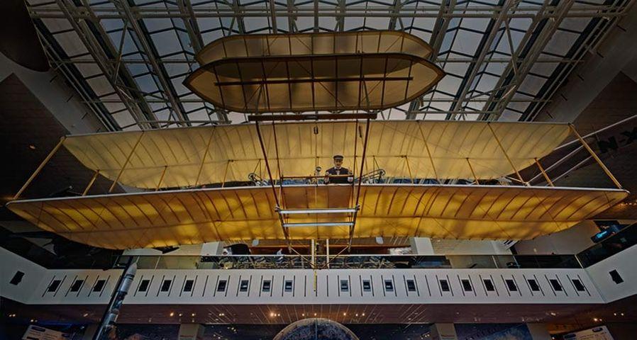 「ライトフライヤー号」アメリカ, ワシントン.D.C, スミソニアン航空宇宙博物館