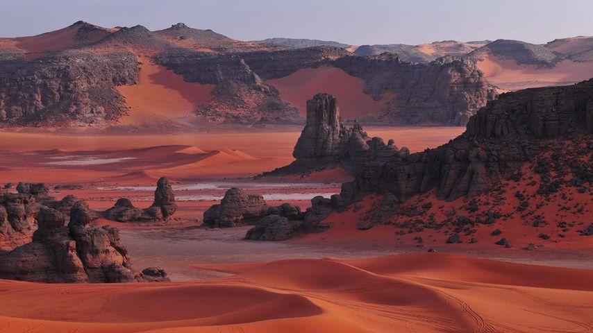 「タッシリ・ナジェール」アルジェリア, サハラ砂漠