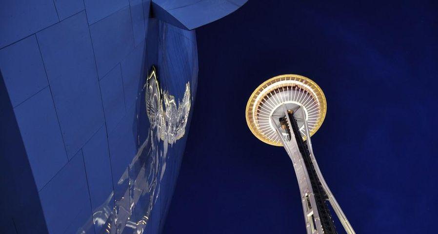 「スペースニードル」アメリカ, ワシントン州, シアトル