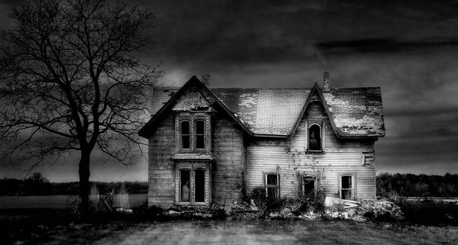 「カナダの古い屋敷」カナダ, オンタリオ州