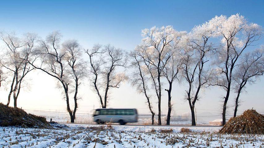 「吉林霧氷」中国, 吉林省