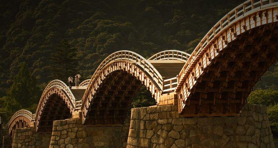 「錦帯橋」山口県, 岩国市