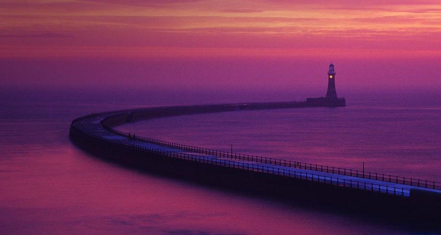 「ローカーの桟橋」イギリス, サンダーランド