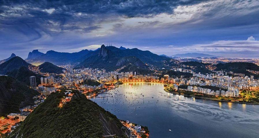 「グアナバラ湾」ブラジル, リオデジャネイロ