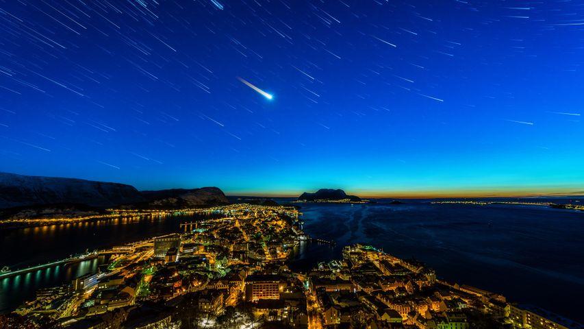 「オーレスンの星空」ノルウェー