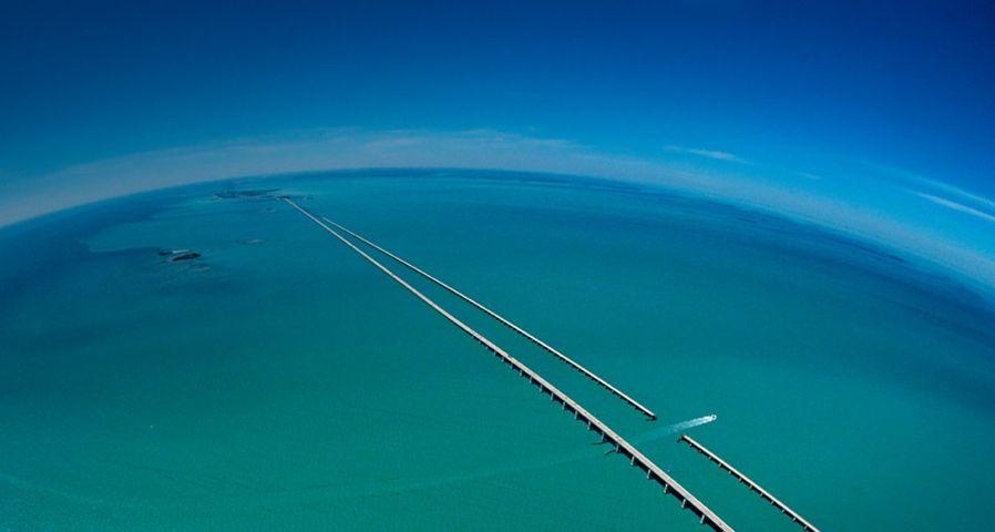 「セブンマイル・ブリッジ」アメリカ, フロリダ州