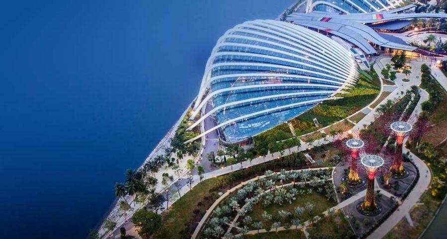 「ガーデンズ・バイ・ザ・ベイ」シンガポール
