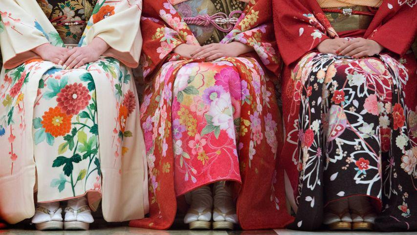 「成人式の振り袖」石川県, 金沢市