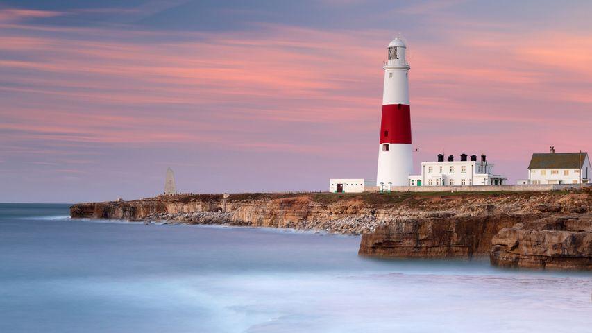 「ポートランドビル灯台」イギリス, ドーセット