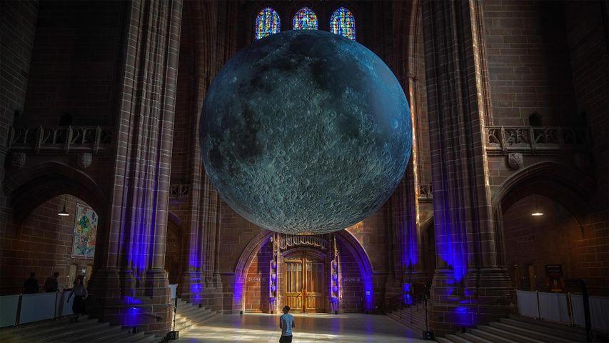 「月の博物館」イギリス, リバプール