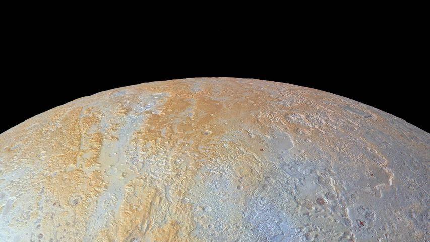 「冥王星北極」宇宙探査機ニュー・ホライズンズ