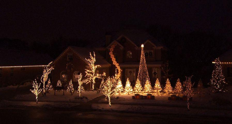 「クリスマスの光」