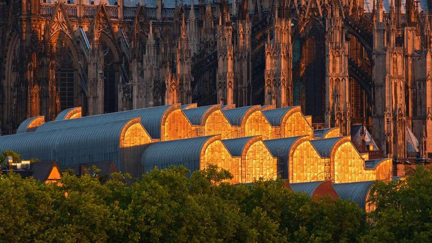 「ケルン大聖堂とルートヴィヒ美術館」ドイツ, ケルン