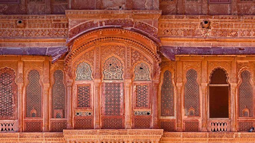 「メヘラーンガル城」インド, ジョードプル