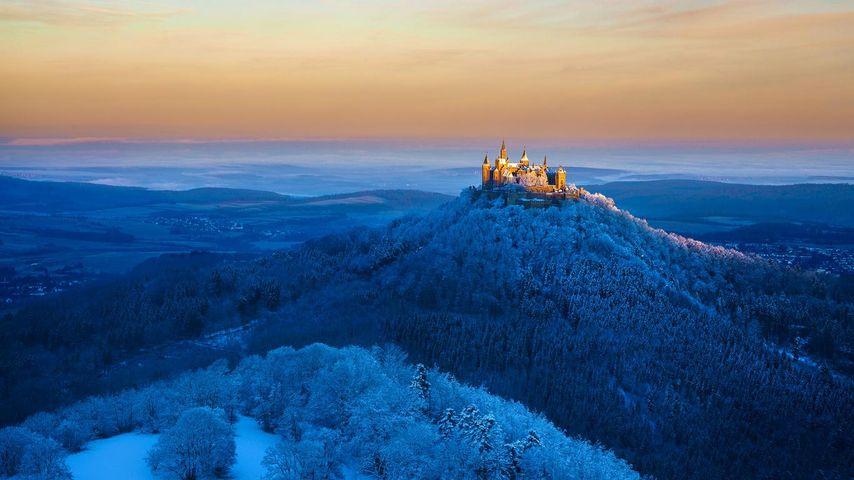 「ホーエンツォレルン城」ドイツ, シュトゥットガルト
