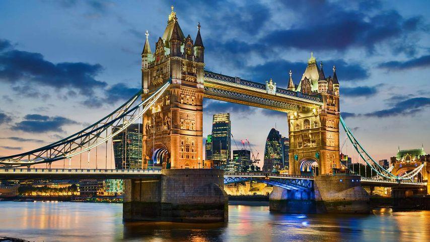 「タワーブリッジ」イギリス, ロンドン