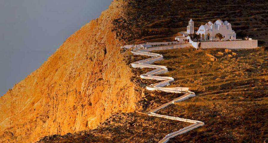 「フォレガンドロス島のパナギア教会」ギリシャ, チョラ