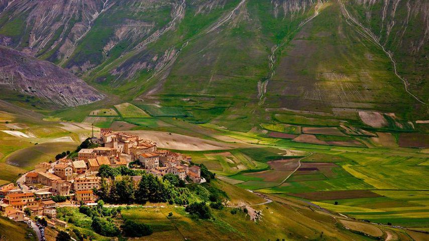 「カステッルッチョ」イタリア, シビッリーニ山脈国立公園
