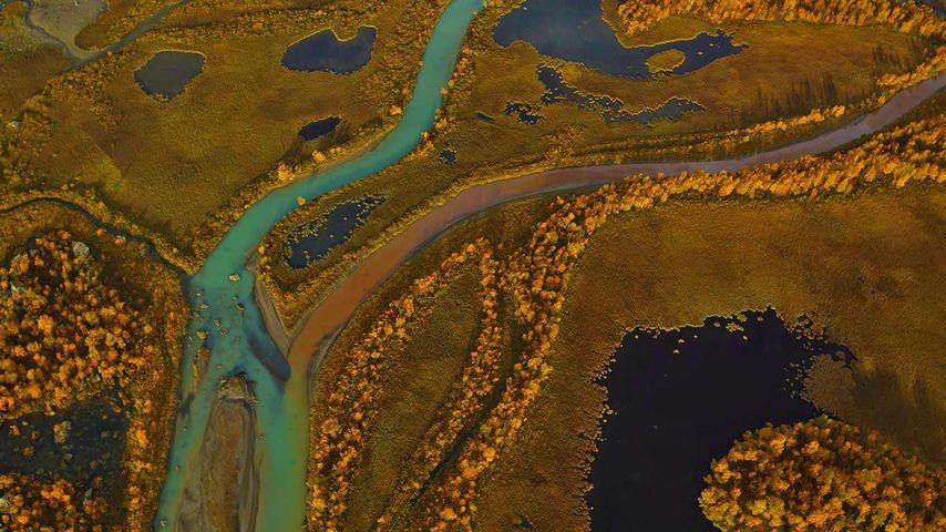 「ラパ川」スウェーデン