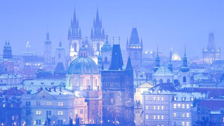 「百塔のプラハ」チェコ, プラハ旧市街