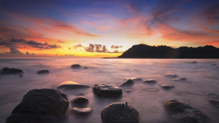 「クット島」タイ, トラート県