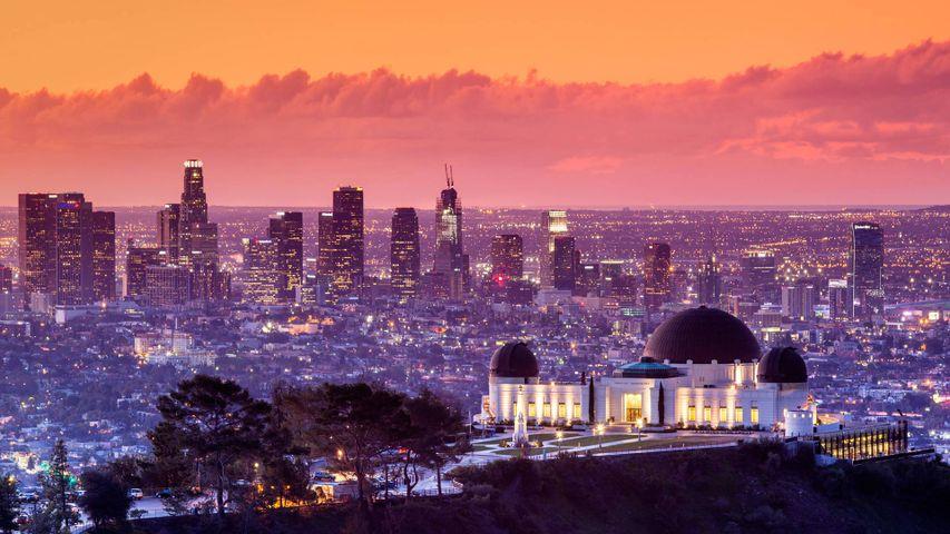 「グリフィス天文台」米国カリフォルニア州, ロサンゼルス