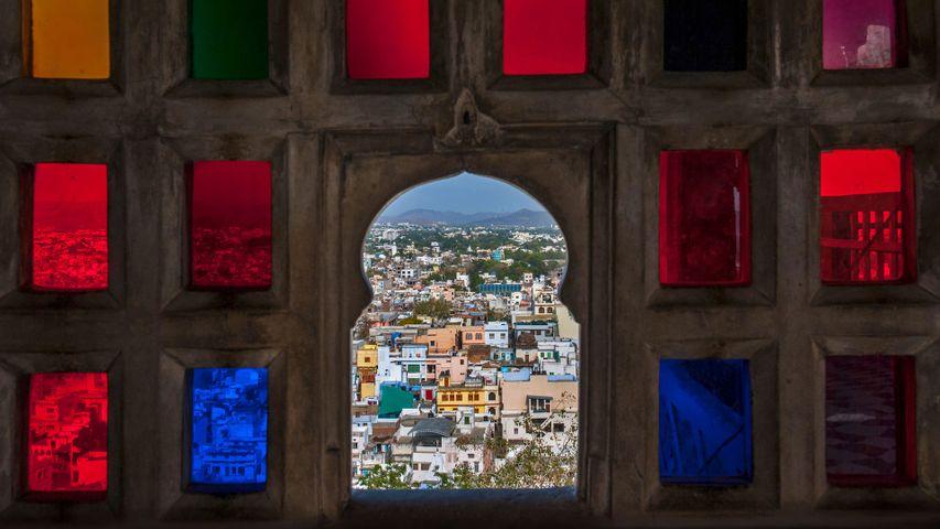 「シティ・パレスからの眺め」インド, ラージャスターン州