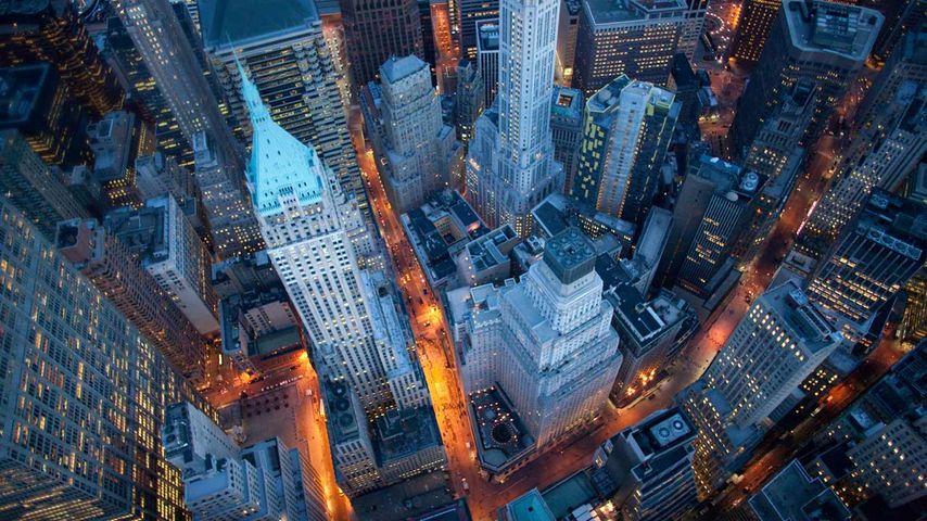 「ウォール街」アメリカ, ニューヨーク