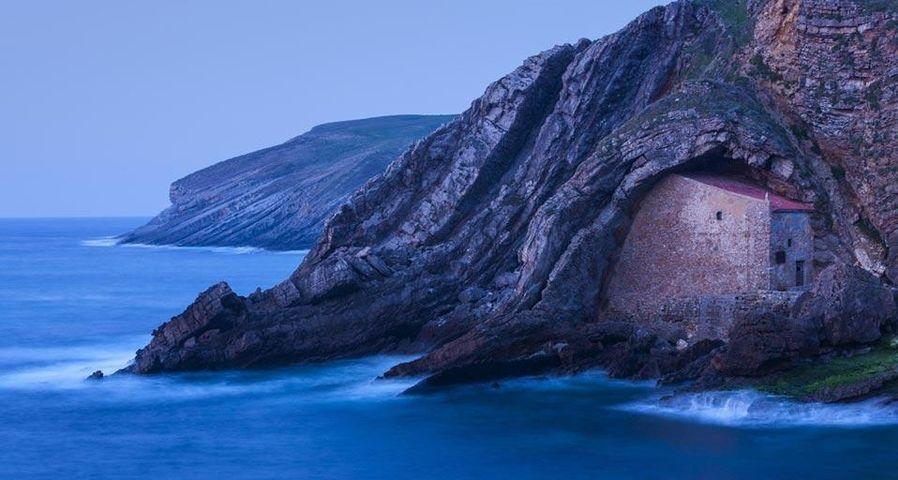 「サンタ・フスタ」スペイン, ビスケー湾