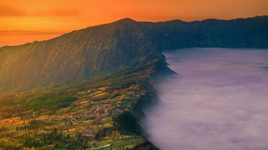 「チェモロ・ラワン村」インドネシア, ジャワ島東部