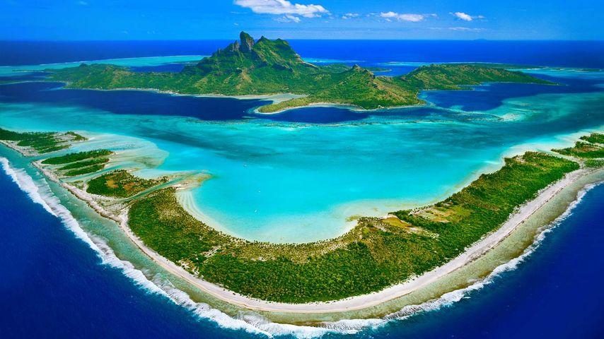 「ボラボラ島」フランス領ポリネシア