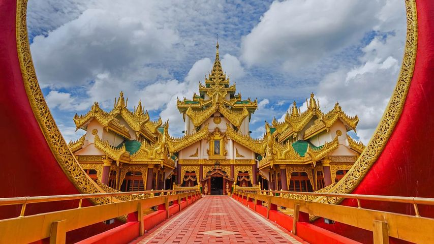 「カラウェイ・パレス」ミャンマー, ヤンゴン