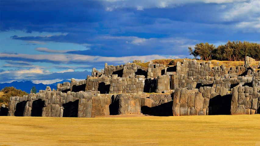 「サクサイワマン」ペルー, クスコ
