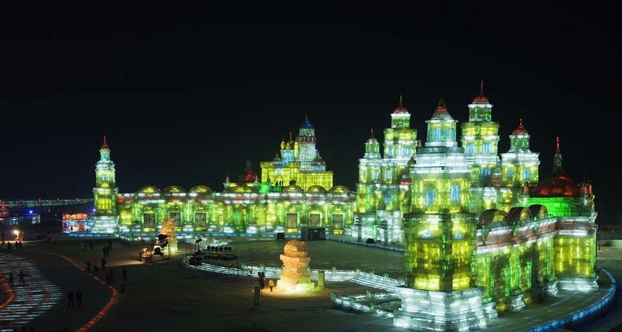 「ハルビン国際氷雪祭」中国, 黒竜江省