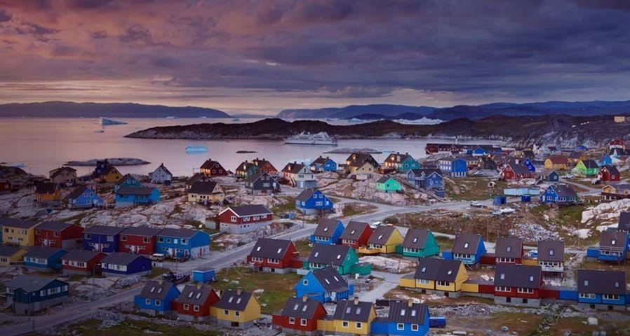 「ディスコ湾」グリーンランド, イルリサット