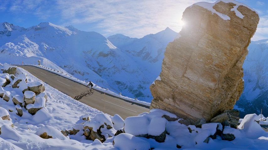 「グロースグロックナー山岳道路」オーストリア, ケルンテン州