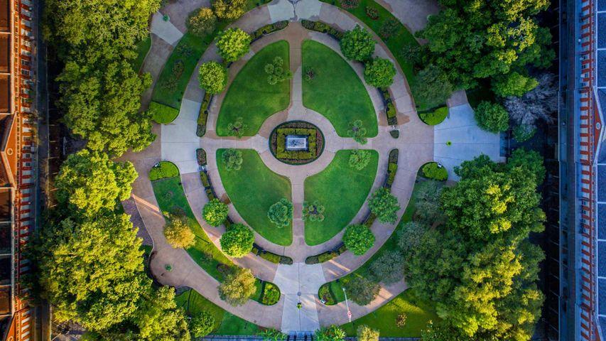 「ジャクソン広場」アメリカ合衆国, ルイジアナ州