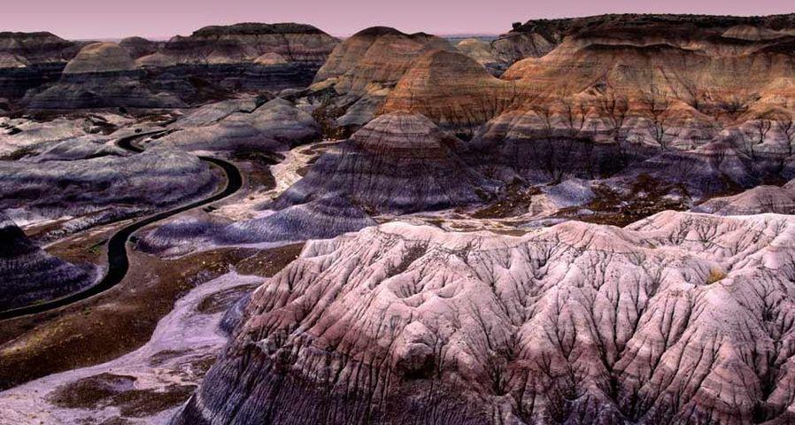 「ペインテッド砂漠」アメリカ, アリゾナ州