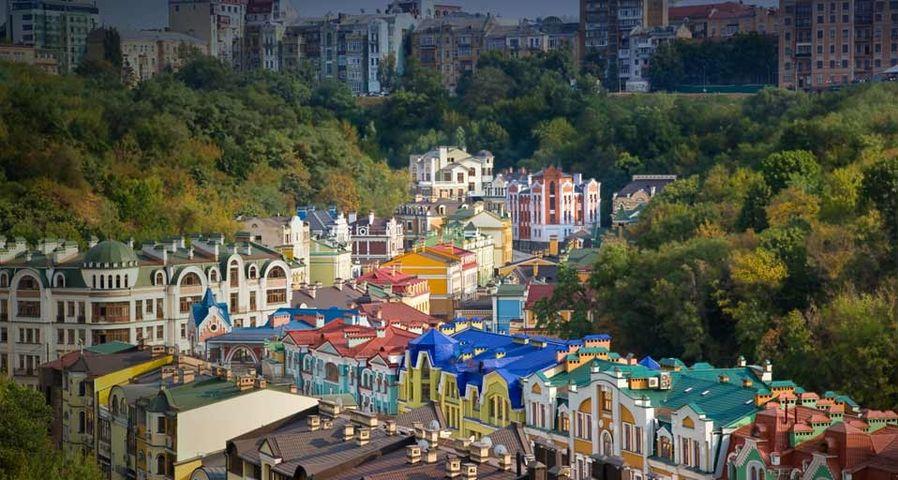 「キエフの新興住宅地」ウクライナ, キエフ