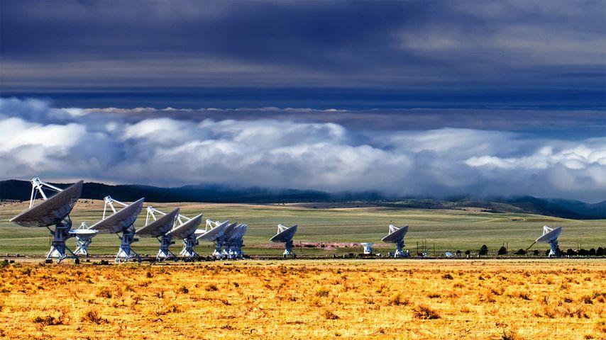 「超大型干渉電波望遠鏡群」アメリカ, ニューメキシコ州