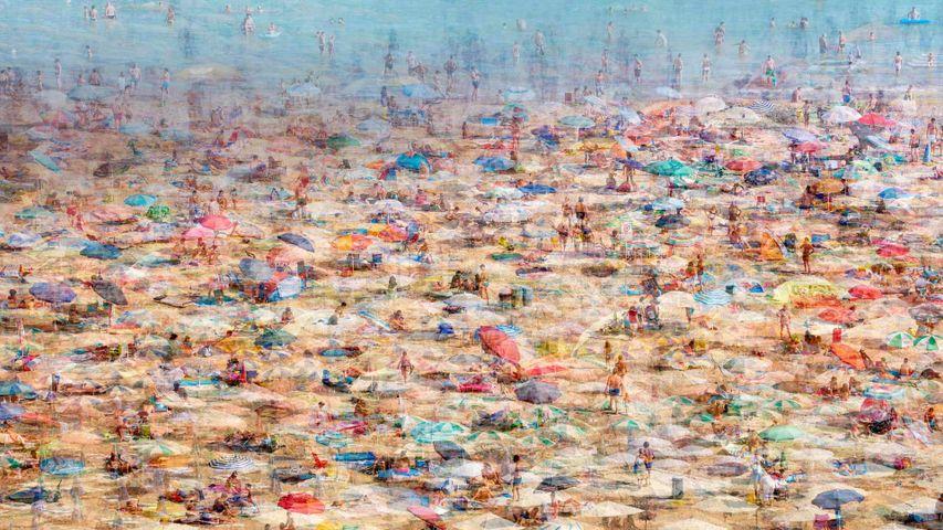 「リニャーノ・サッビアドーロのビーチ」イタリア, フリウリ=ヴェネツィア・ジュリア州
