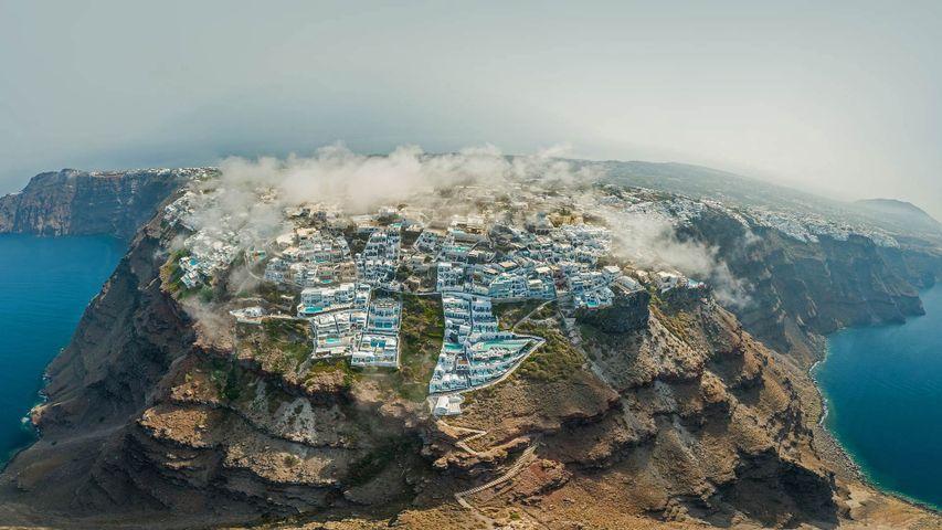 「サントリーニ島」ギリシャ