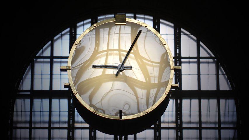 「ユニオン駅の時計」カナダ, トロント