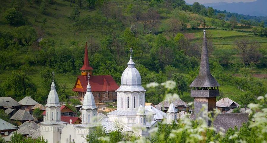 「マラムレシュ地方の木造教会」ルーマニア, ボティーザ村